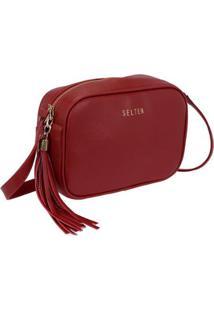 Bolsa Selten Mini Bag Feminina - Feminino-Vermelho