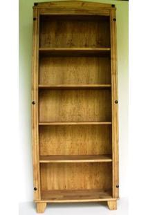 Estante Para Livros Alta Madeira Maciça Móveis Neppel Neppel