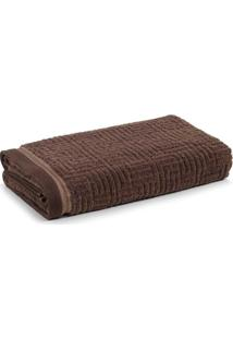 Toalha De Banho Gigante Karsten Diniz Chocolate 86 X 150 Cm Marrom - Marrom - Dafiti