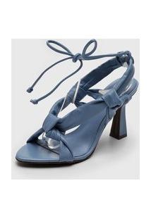 Sandália Dumond Nó Azul