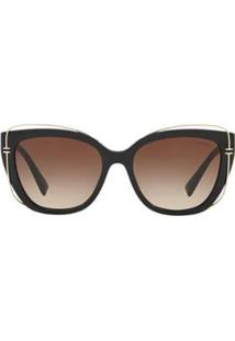 Óculos De Sol Tiffany & Co. Tf4148 Feminino - Feminino-Preto