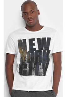 Camiseta Burn Ny City Masculina - Masculino