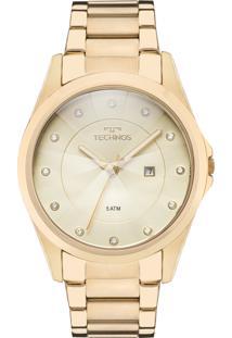 Relógio Technos Feminino Elegance Crystal Gn10As/4X