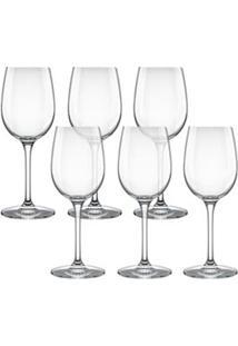 Conjunto De Taças Para Vinho Branco Carpe Diem 240Ml 6 Peças - Nadir