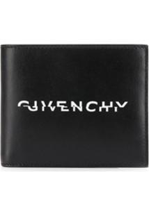 Givenchy Carteira Dobrável Com Logo - Preto