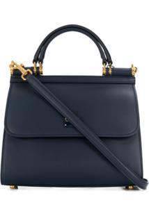 Dolce & Gabbana Bolsa Tote Sicily 58 - Azul