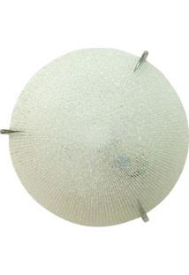 Plafon Para 1 Lâmpada Prisma 25Cm Cristal Home Line
