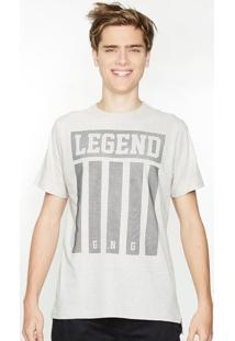 Camiseta Alongada Botonê Linho Legend