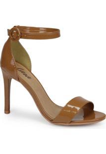 Sandália Salto Fino Mal Caramelo