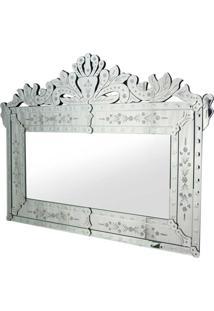 Espelho Agostin Rivatti Cinza - Prata - Dafiti