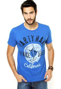Camiseta Fiveblu Reta Azul