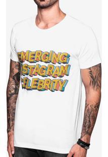 Camiseta Emerging Instagram Celebrity 103767