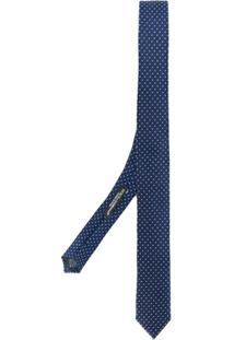 Dolce & Gabbana Gravata Com Poás - Azul