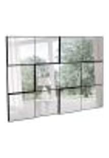 Espelho Decorativo Diego (100X75) Preto
