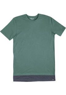 Camiseta Masculina Hering Em Modelagem Regular Alongada