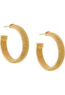 Gas Bijoux Milo Hoop Earrings - Metálico