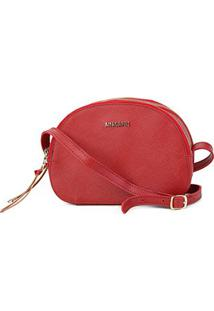 Bolsa Anacapr Mini Bagi Med New Saffi Ac Feminina - Feminino-Vermelho