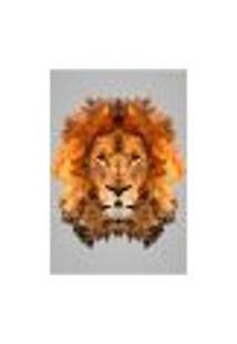 Painel Adesivo De Parede - Leão - Animais - 1657Png