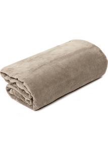 Cobertor Solteiro Buddemeyer Aspen Bege