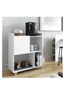 Aparador Módulo Cafeteira/Bar Be Mobiliário Drink 1 Porta Branco
