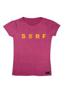 T-Shirt Wss Estonada Orange Neon