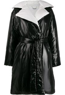 Givenchy Trench Coat Matelassê - Preto