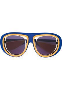 e150eeb9f0ae2 Óculos De Sol De Sol Emilio Pucci feminino   Shoelover