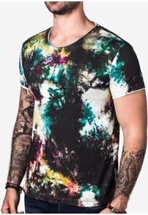 Camiseta Hermoso Compadre Stain Masculina - Masculino-Preto
