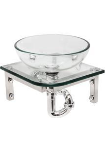 Gabinete Para Banheiro De Vidro Newton Astra Gp-N Transparente