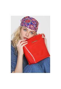 Bolsa Petite Jolie Tag Vermelha