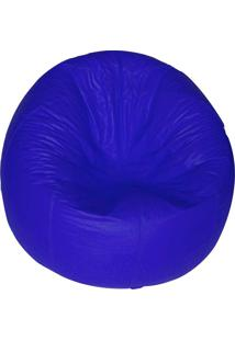 Puff Redondo Pop - Stay Puff - Azul Royal