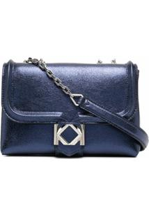 Karl Lagerfeld Bolsa Tiracolo Miss K Pequena - Azul