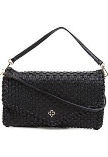 Bolsa Capodarte Mini Bag Soft Tressê - Feminino-Preto