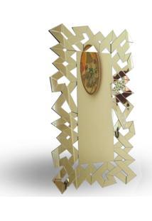 Espelho Geomã©Trico Retangular 140 X 80 Cm - Incolor - Dafiti