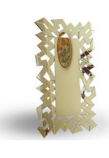 Espelho Geométrico Retangular 140 X 80 Cm