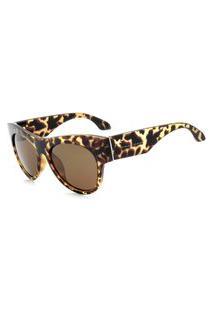 Óculos De Sol Prorider Animal Print Translúcido - 2819C3