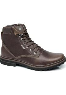 Bota Freeway Tracker Masculina - Masculino-Marrom
