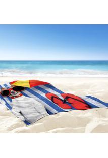 Toalha De Praia / Banho Dog Summer