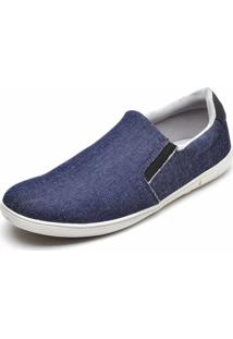 Sapatênis Slip On Iate Mac Point Jeans