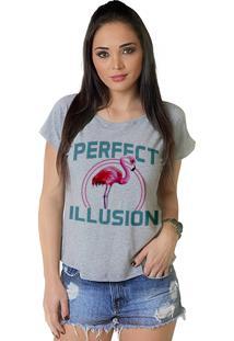 Camiseta Wevans Flamingo Mescla