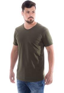 T-Shirt Z-32 Gola Careca Verde Militar