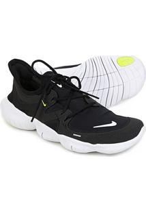 Tênis Nike Free Run 5.0 Feminino - Feminino-Chumbo+Branco
