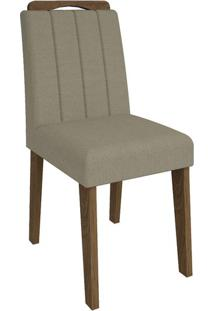 Cadeira Elisa Caramelo Savana