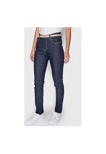 Calça Jeans Polo Wear Skinny Pespontos Azul
