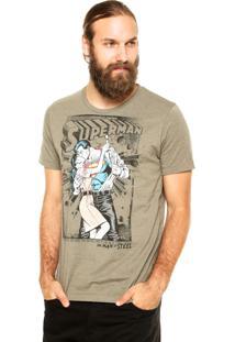 Camiseta Fashion Comics Superman Verde
