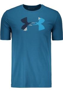 Camiseta Under Armour Glitch Logo - Masculino