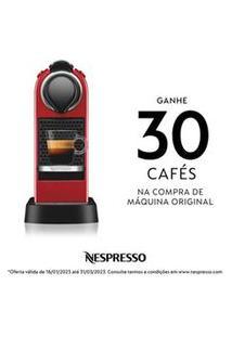 Cafeteira Nespresso Citiz Vermelha Para Café Espresso - C113Br