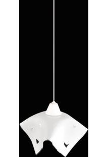 Pendente Tulipa Coração 9017/1 Co Branco