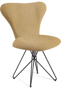 Cadeira Jacobsen Butterfly T1132-Daf Mobiliário - Amarelo