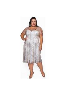Vestido Almaria Plus Size Pianeta Curto